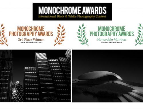 3. Platz beim Monochrome Awards – International Black & White Photograph Contest